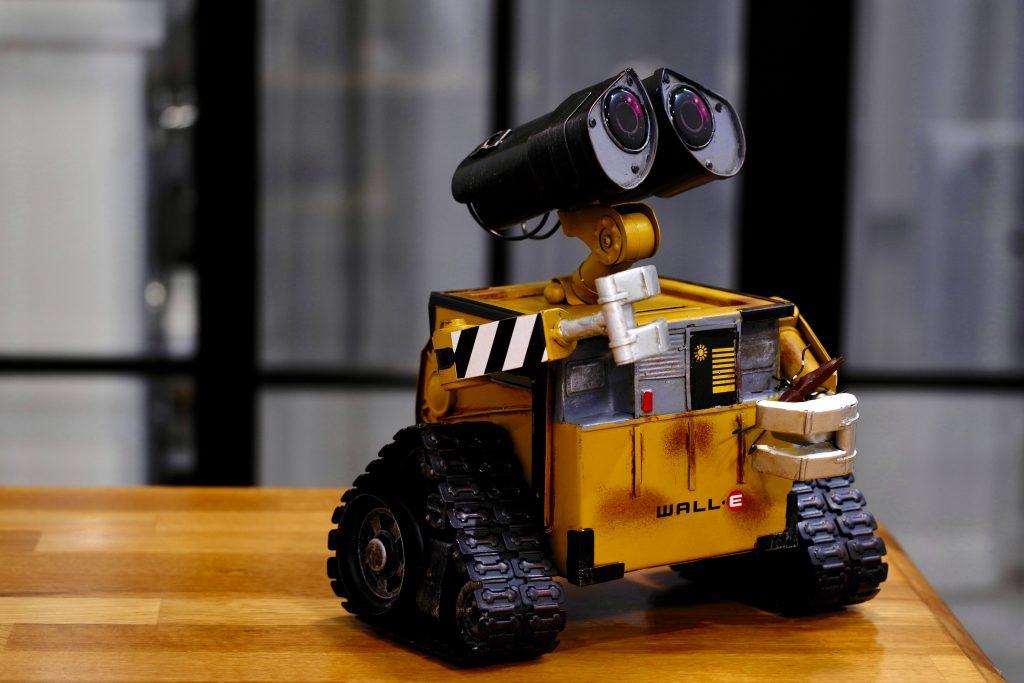 """""""WALL·E – Der Letzte räumt die Erde auf"""" von Pixar Animation Studios und der Walt Disney Company"""
