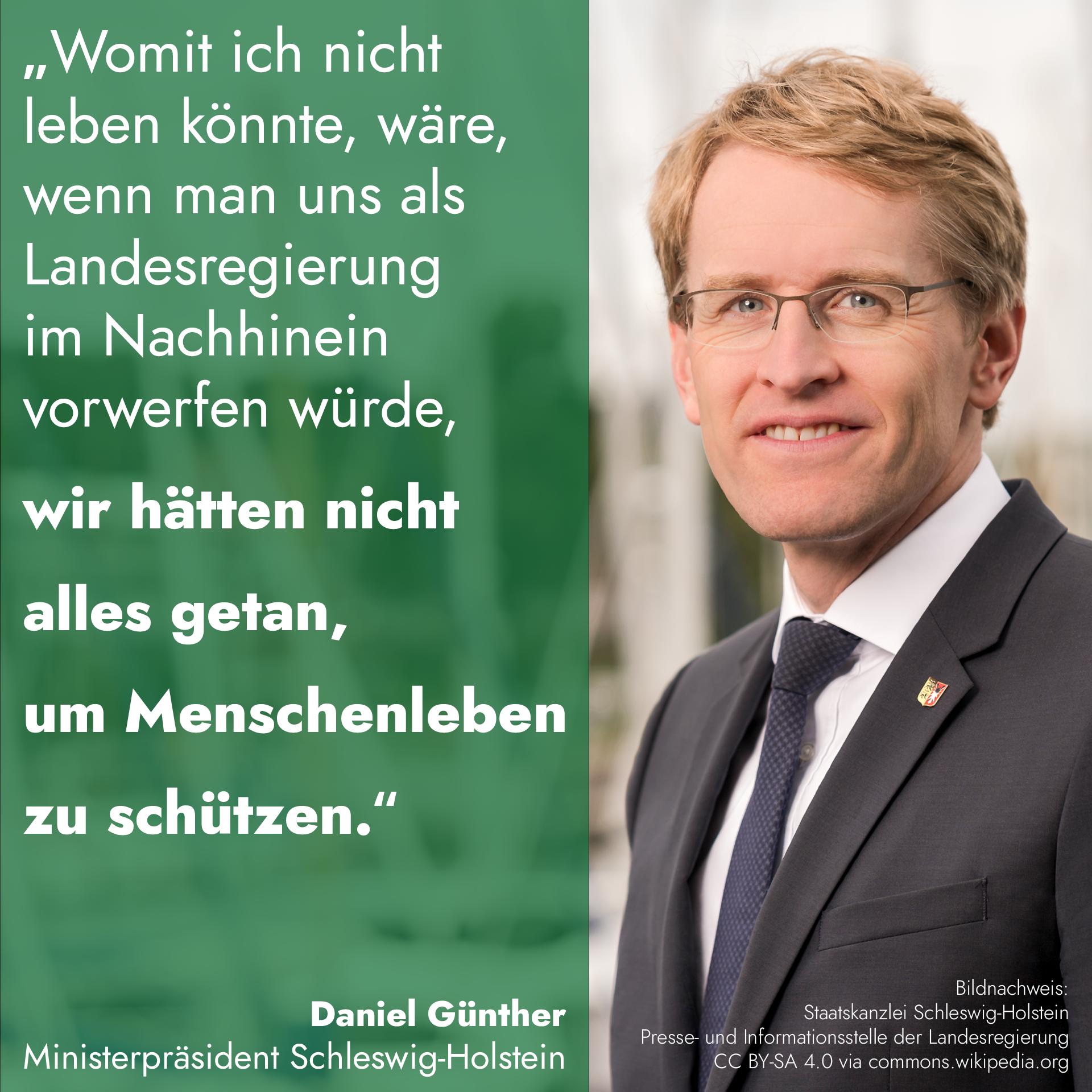 Sharepic: Daniel Günther