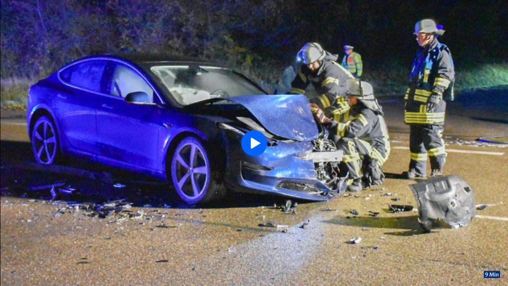 Elektroautos: Beim Brand hilft nur viel Wasser
